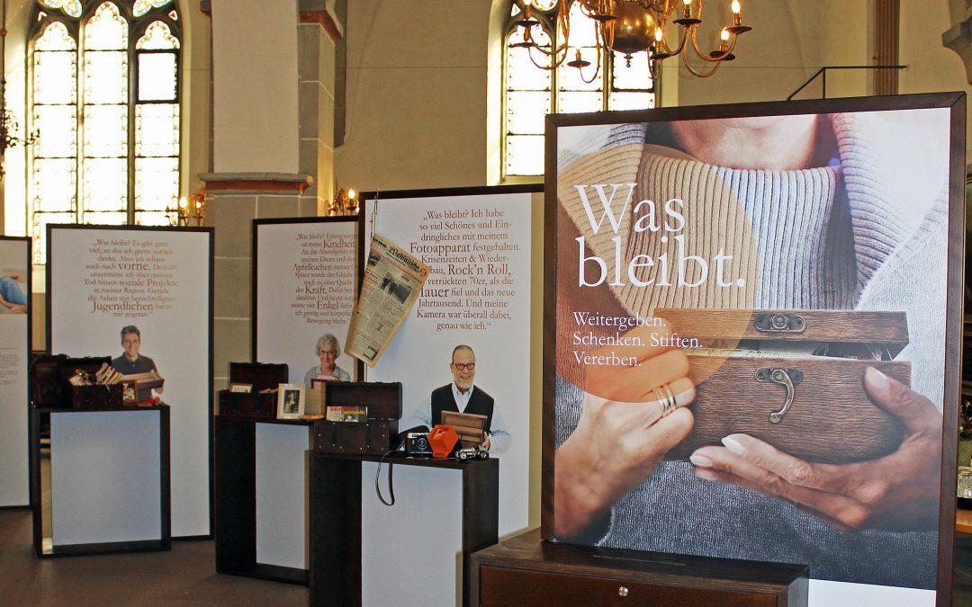 """""""Was bleibt"""" und """"Nicht(s) vergessen"""": Ausstellung und Veranstaltungsreihe im März in St. Simeonis"""