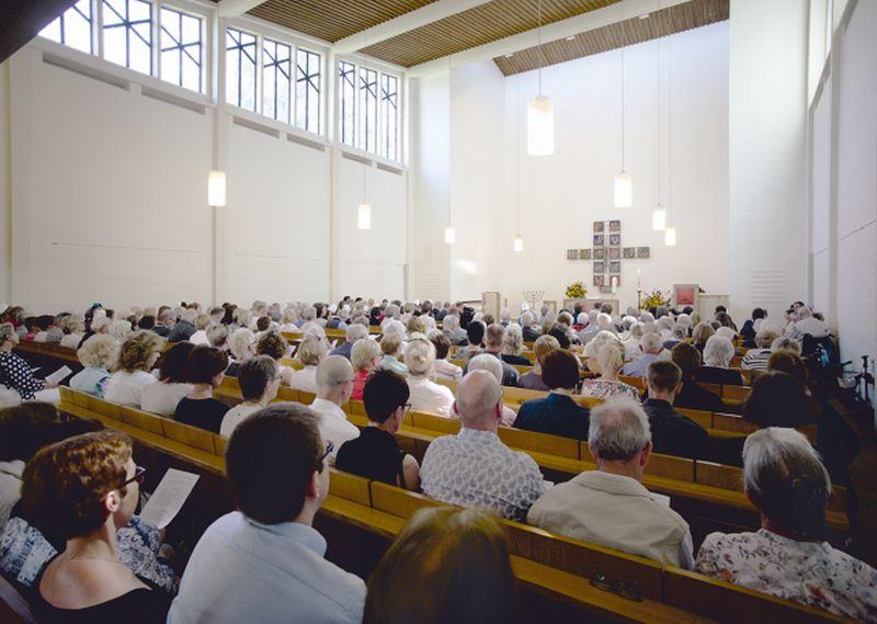 Gottesdienste in Präsenz lösen Internet-Gottesdienste ab