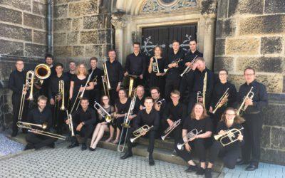 Landesjugendposaunenchor Westfalen-Lippe zu Gast in St. Martini