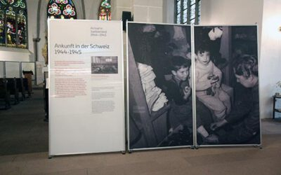 Ausstellung der Gedenkstätte Bergen Belsen in der Offenen Kirche St. Simeonis